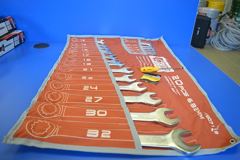 Набор ключей рожково-накидных STAB ITQ07119 всего за 80 руб!