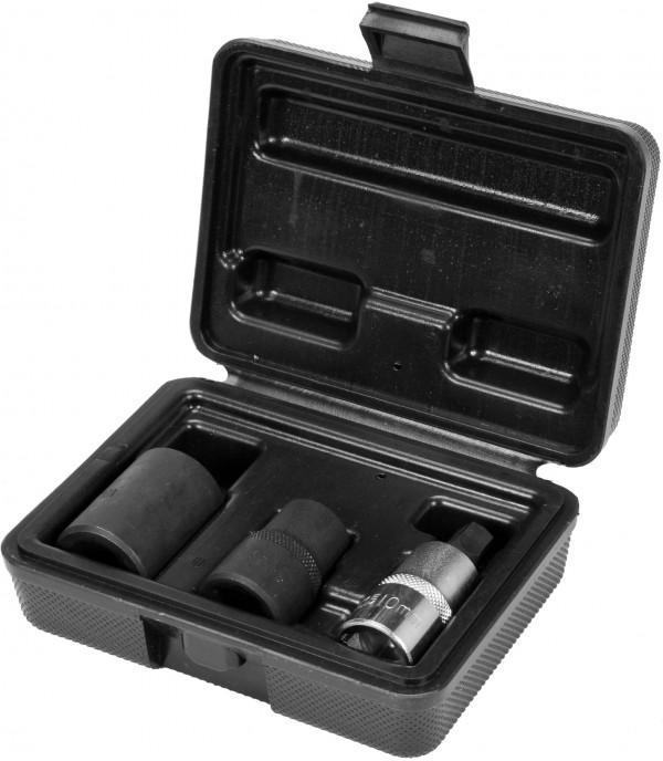 Головки для тормозных суппортов (набор 3шт.) Yato YT-06807