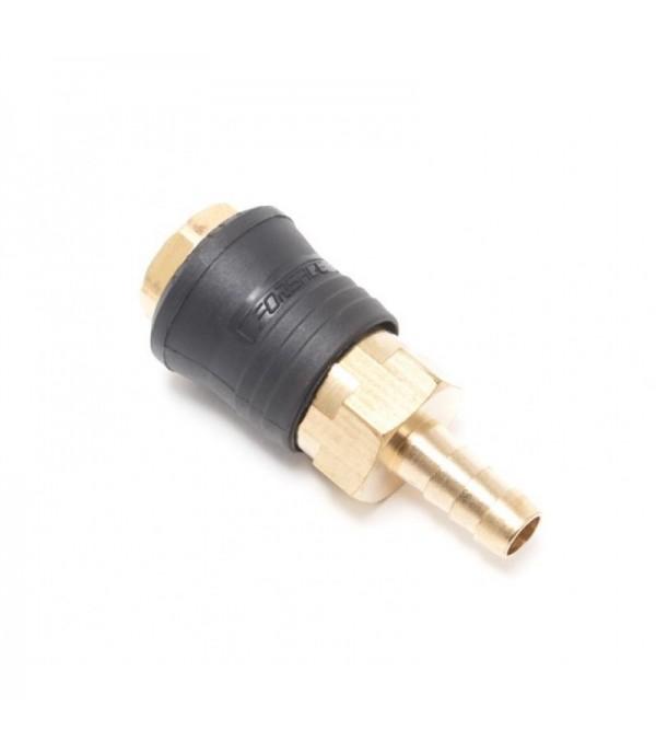 Быстроразъем пневматический с клапаном ''елочка''10мм (ONE TOUCH) Forsage F-SE6-3SH