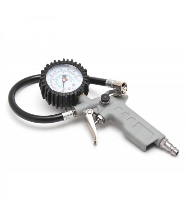 Пневмопистолет для подкачки колес с манометром KING G-60
