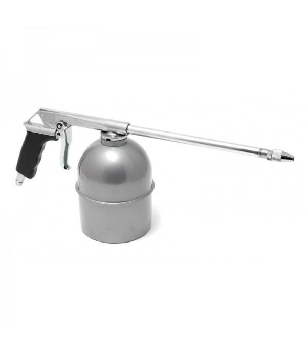 Пневмопистолет для мойки двигателя с бачком(расход воздуха 130 л/мин, емкость бачка 600мл) Rock FORCE RF-2374