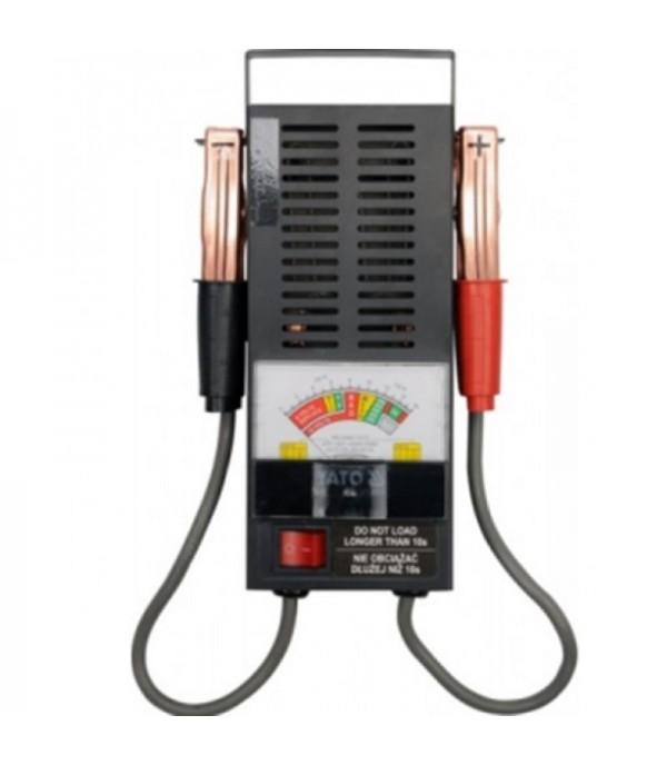 Тестер аккумуляторных батарей аналоговый (6V-12V, 100А) Forsage F-8310