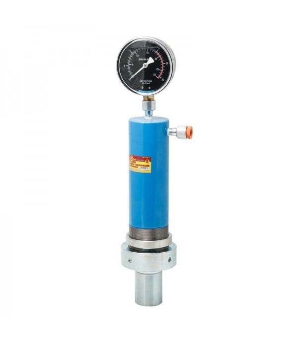 Цилиндр гидравлический для пресса с манометром 20т (ход штока-145мм) KINGTUL KT-0100-1B