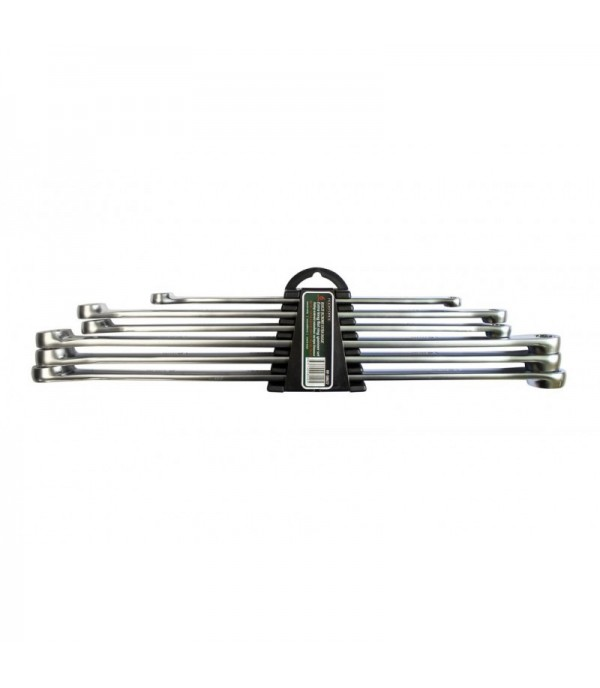 Набор ключей накидных экстра длинных, 6пр.(8х10, 11х13, 12х14, 15х17, 16х18, 19х21мм), в пластиковом держателе Rock FORCE RF-50622