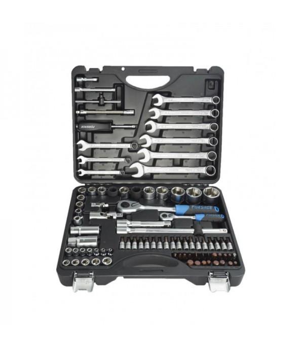 Набор инструментов 82+6пр.1/4''1/2''(6гр.) Forsage F-4821-5 PREMIUM