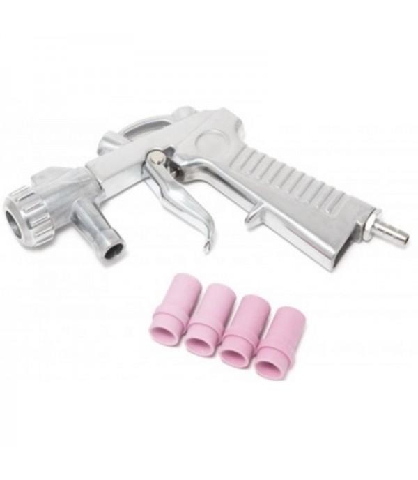 Пистолет для пескоструйного аппарата SBCG с комплектом сопел 4шт (4,5,6,7мм) Rock FORCE RF-SBC-GUN5