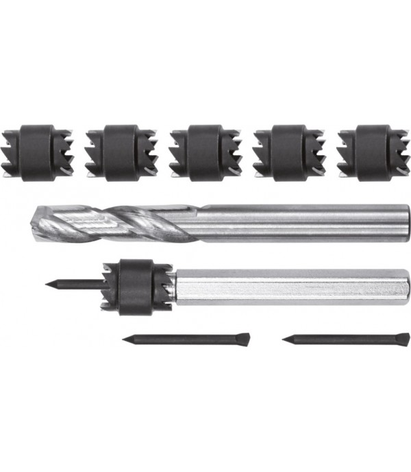 Свёрла по металлу для высверливания точечной сварки 8, 10мм. (набор 9пр.) Yato YT-28920