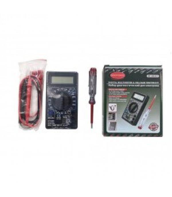 Набор диагностический для электрика (цифровой мультиметр, индикаторная отвертка) Rock FORCE RF-88463