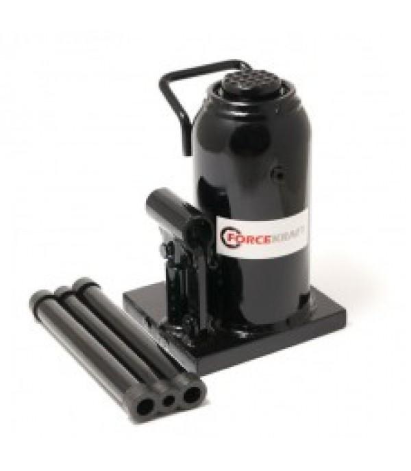 Домкрат бутылочный с клапаном 20т(h  min 220мм,h max 420мм) FORCEKRAFT FK-T92004D