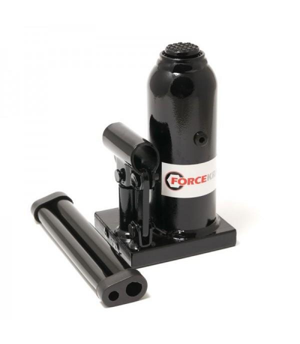 Домкрат бутылочный с клапаном 2т(h min 150мм,h max 278мм) FORCEKRAFT FK-T90204D