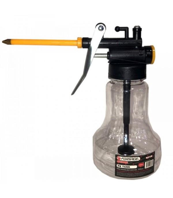Масленка-нагнетатель в пластиковом прозрачном корпусе, 350мл Forsage F-0691