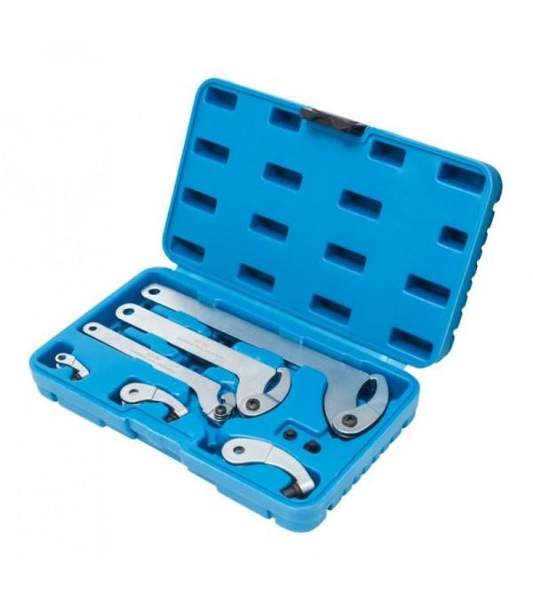 Набор ключей для шлицевых гаек, 8пр. (35 - 120мм) Partner PA-NA1012