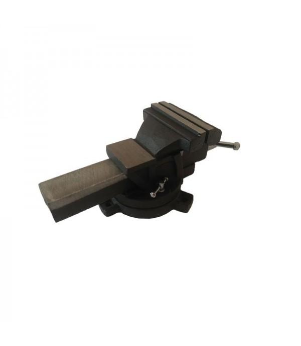 Тиски стальные поворотные с наковальней 8''-200мм FORCEKRAFT FK-6540108