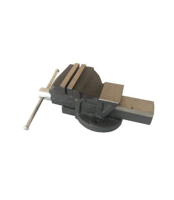 Тиски стальные с наковальней 5''-125мм FORCEKRAFT FK-6540205