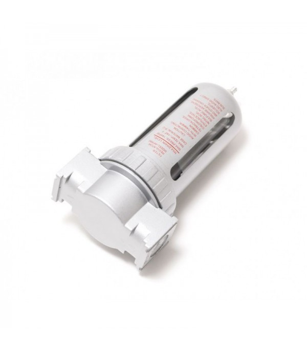 Фильтр влагоотделитель для пневмосистемы 1/4''(10bar температура воздуха 5-60С.10Мк ) Forsage F-AF802