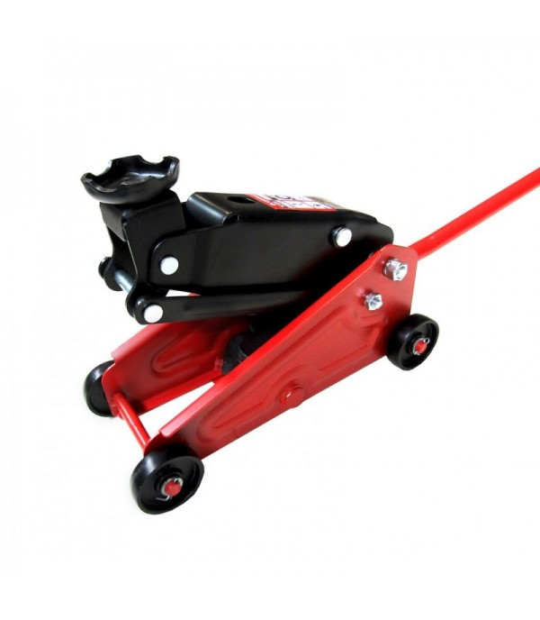 Домкрат подкатной гидравлический 2,5т ''Компакт''для кроссоверов и микроавтобусов +чехол для хранения(h min 135мм,h max 395) Forsage F-TR20005 (NEW)