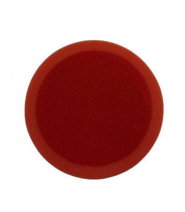 Губка для полировки самоцепляющаяся 150мм утолщенная (цвет оранжевый) Forsage F-PSP150B