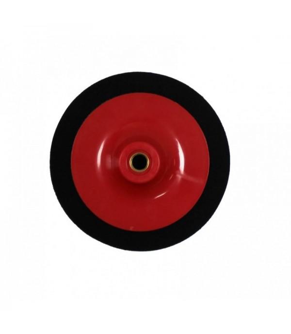Губка для полировки на диске 150мм (М14) (цвет черный) Forsage F-PSP150C