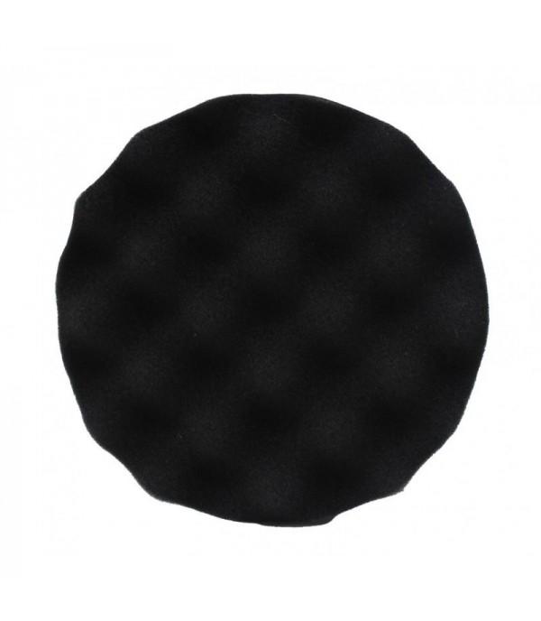 Губка для полировки самоцепляющаяся 150мм (цвет черный) Rock FORCE RF-PSP150W/B
