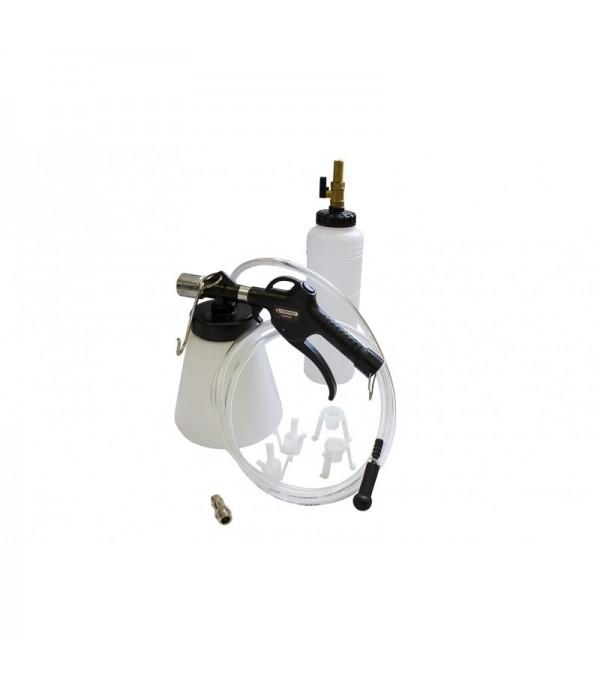 Приспособление для замены тормозной жидкости + мерный бачок (пневмо) Forsage F-9T3608