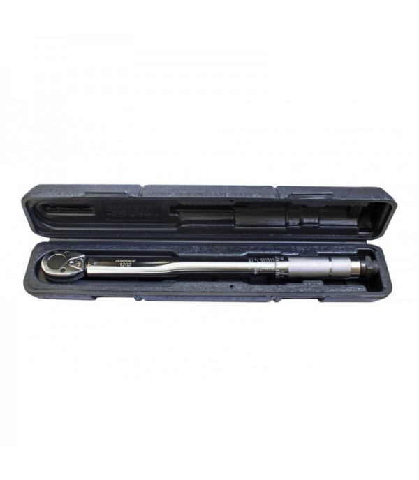 Ключ динамометрический щелчкового типа ''Profi''19-110Нм 3/8'',в пластиковом футляре (Taiwan) Forsage F-1202