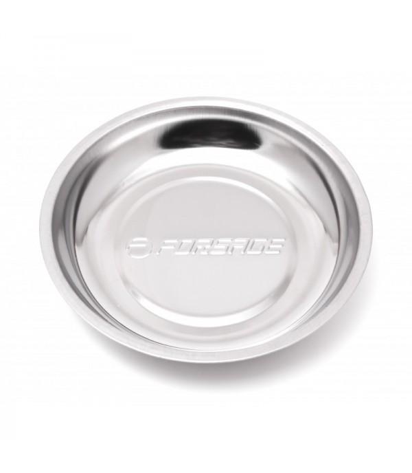 Лоток магнитный из нержавеющей стали (Ø150 мм) Forsage F-88001