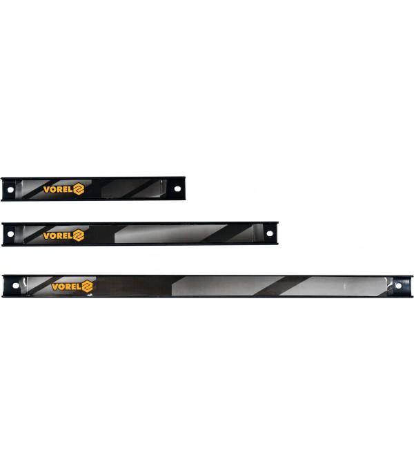 Планка магнитная для инструмента (набор 3шт) Vorel 57830