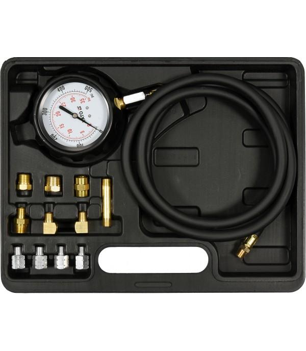 Тестер для измерения давления масла с адаптерами 0-35 bar (12пр.) Yato YT-73030
