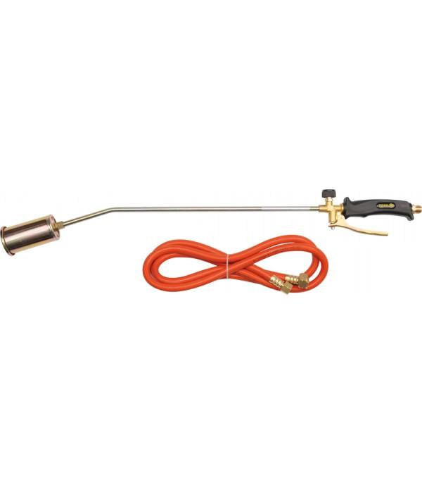Горелка газовая 745мм с гибким шлангом 2м Vorel 73341