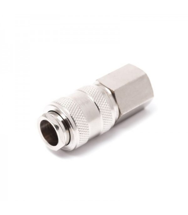 Быстроразъем пневматический с клапаном с внутренней резьбой 1/4'' Partner SE1-2SF