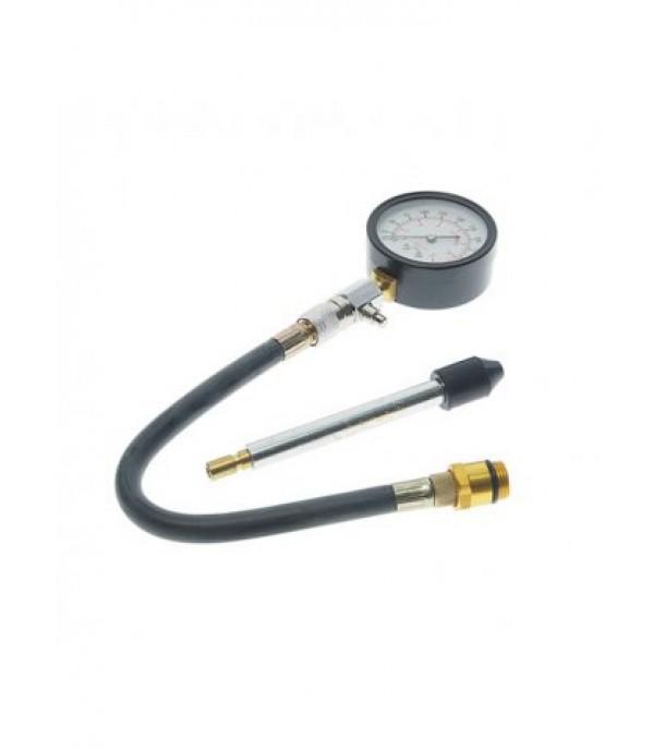 Индикатор компрессии бензинового двигателя Profi 3пр., в кейсе Rock FORCE RF-903G7