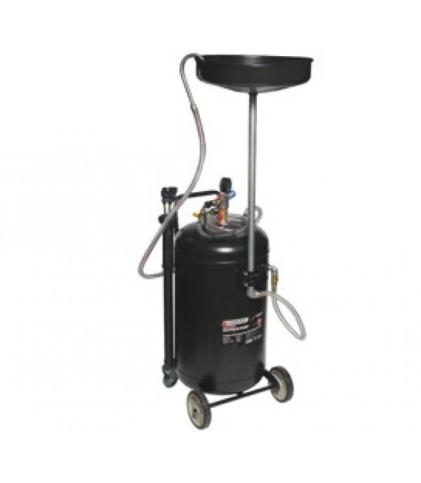 Установка пневматическая для удаления отработанного масла перекатная с индикатором заполнения Forsage F-HC-3285