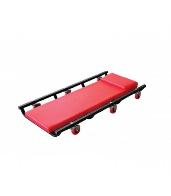 Лежак автослесаря подкатной на 6-ти колесах (420х1020мм) Forsage F-TR6503