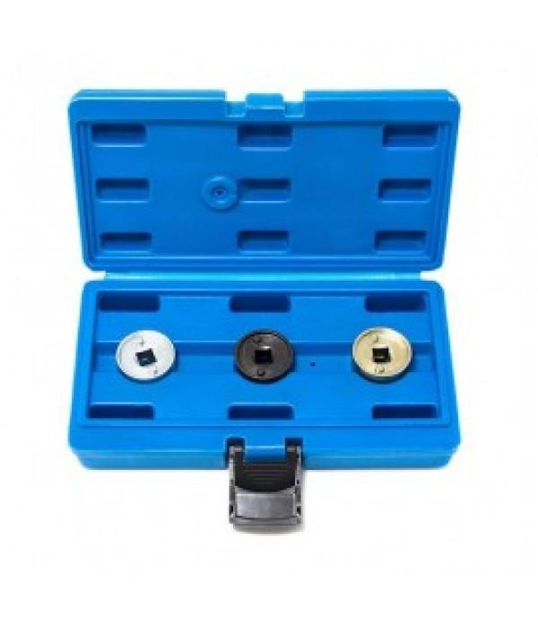 Набор головок для регулировки распределительного вала двигателей группы VAG 3пр., в кейсе Forsage F-902G23