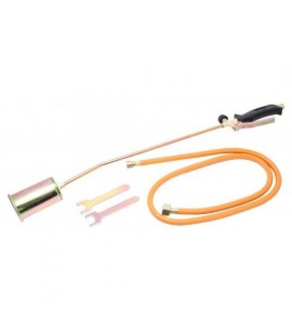 Горелка газовая кровельная с регулятором, клапаном и гибким шлангом  Rock FORCE RF-0752GB