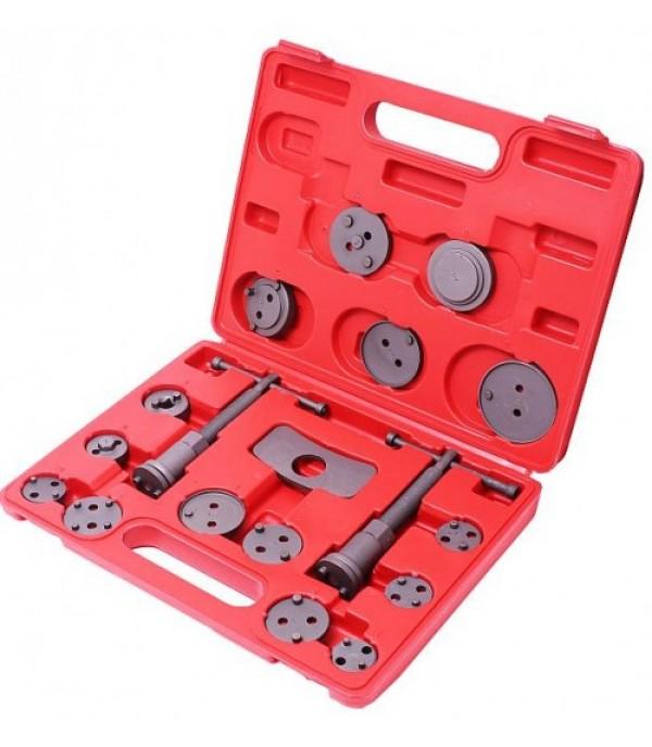 Набор для замены тормозных колодок и вкручивания суппортов правый/левый 18 пр KINGTUL KT-65805 (KT-02039)