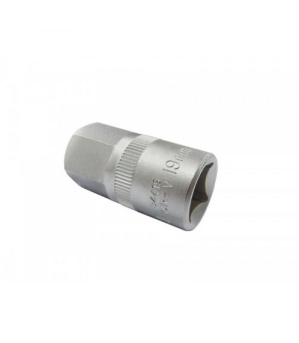 """Бита насадка HEX шестингранная литая 17 мм 1/2"""" Rock FORCE RF-34417"""