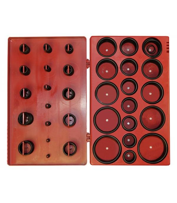 Кольца уплотнительные маслобензостойкие (набор 447пр) Forsge F-736