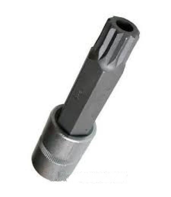 """1/2"""" головка бита 12-лучевая M16 (100ммL) с отверстием Rock FORCE RF-34810016T"""
