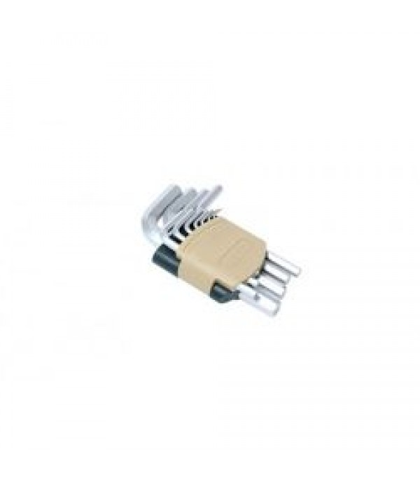 Набор ключей Г-образных 6-гранных 11пр.в пластиковом держателе Rock FORCE RF-5116