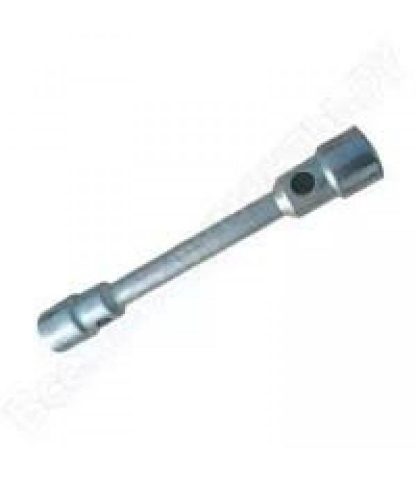 Ключ баллонный двусторонний 24х27х 330 мм ф20мм PATRON P-6772427