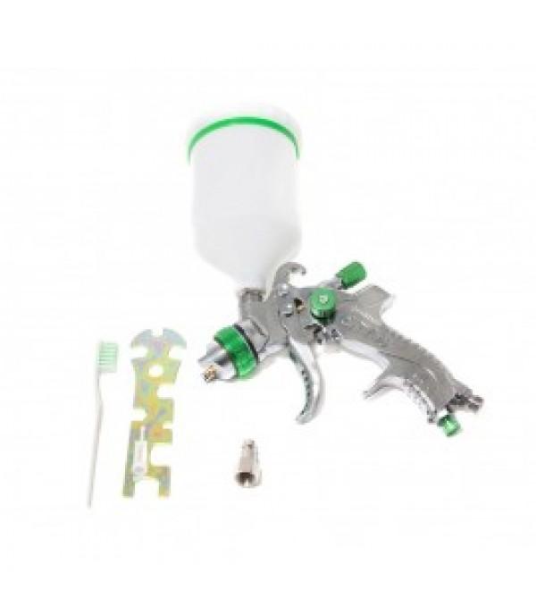 Краскораспылитель с верхним пластиковым бачком (600мл, 1.4мм, 3.5bar, 100-128 л/мин) Partner TE-2008-14V
