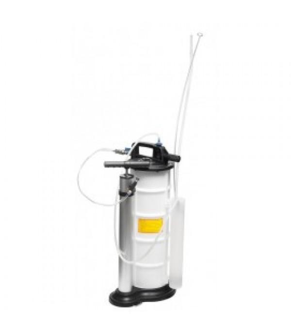 Установка для удаления отработанного масла с комплектом щупов пневматическая/ручная (9л, 0-11.9bar) Forsage F-9T3606