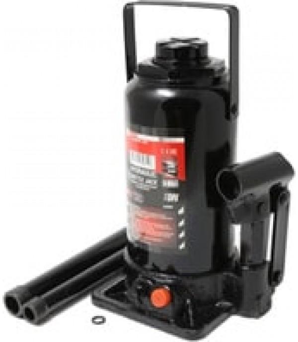 Домкрат бутылочный с клапаном 5т+доп. ремкомплект (h min-185мм, h max-355мм) FORCEKRAFT FK-T90504