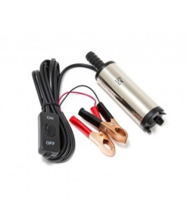 Насос для перекачки топлива (12V, 40W, 20л/мин, Ø38мм, Ø выходного отв. 16мм) Forsage F-ST33-10
