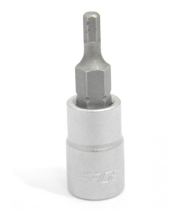 """Головка бита 6-гранная 6 мм 1/4"""" Forsage 3243206"""