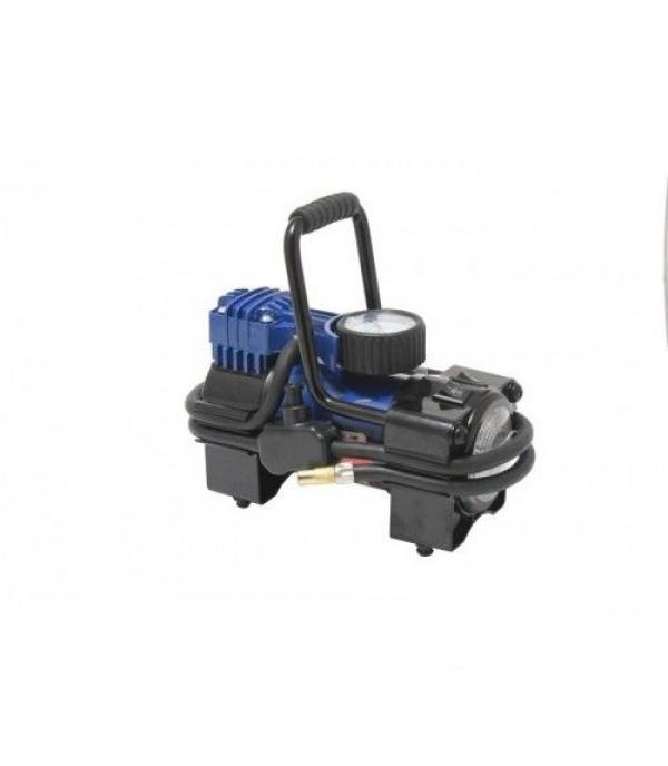 Компрессор поршневой автомобильный с фонарем (35л/мин, 14А) 12V Forsage F-001