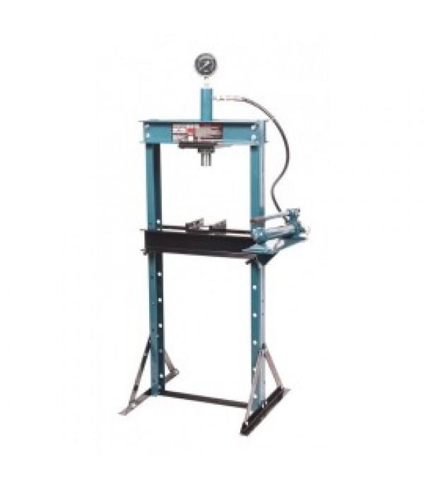 Пресс гидравлический с манометром напольный 12т, (раб. высота: 0-900мм, ход штока:135мм) Forsage F-TY12002