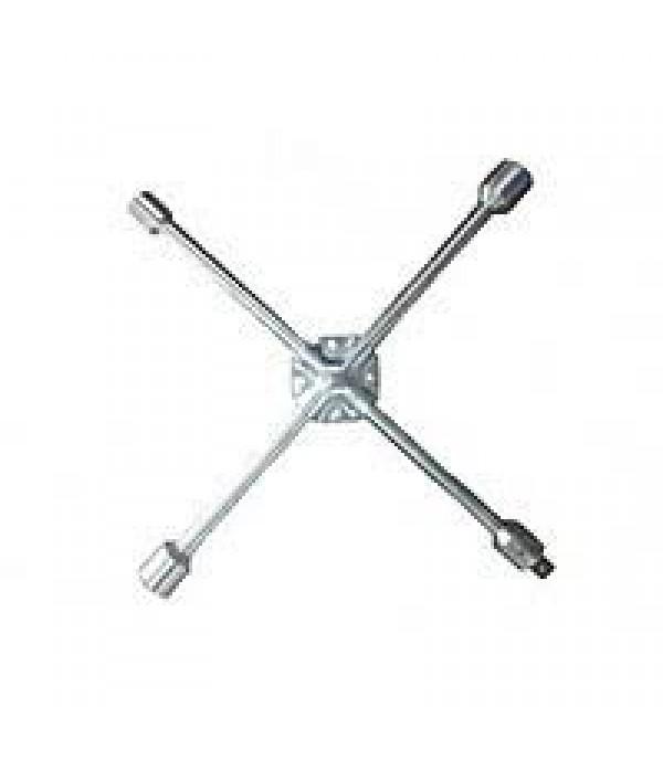 "Ключ балонный ""крест"" усиленный 17x19x21x1/2мм(360) 12X01404 BaumAuto 18088"