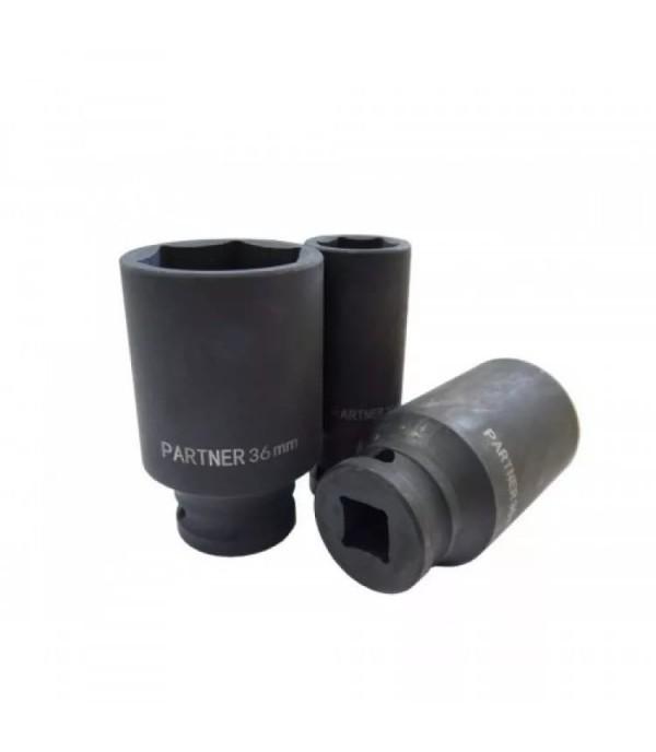 """Головка ударная глубокая 1/2"""" 26 мм (6 граней) Partner PA-4458526"""